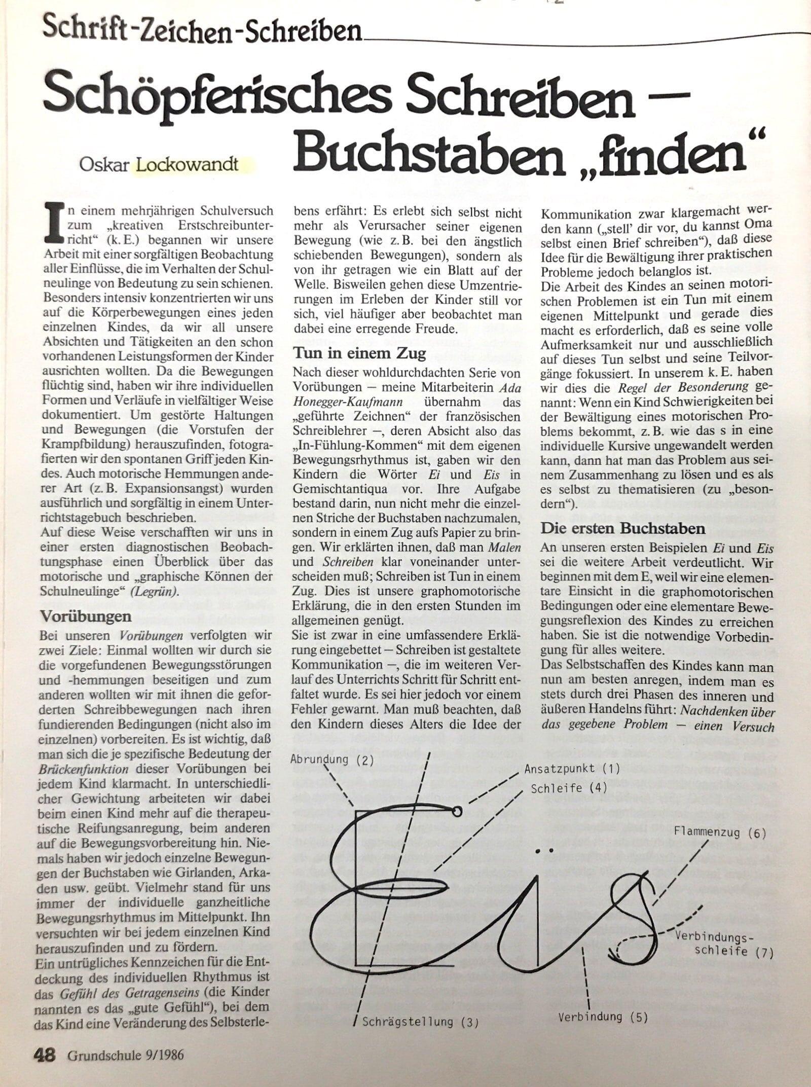 Handschrift & Bewegungsindividualität