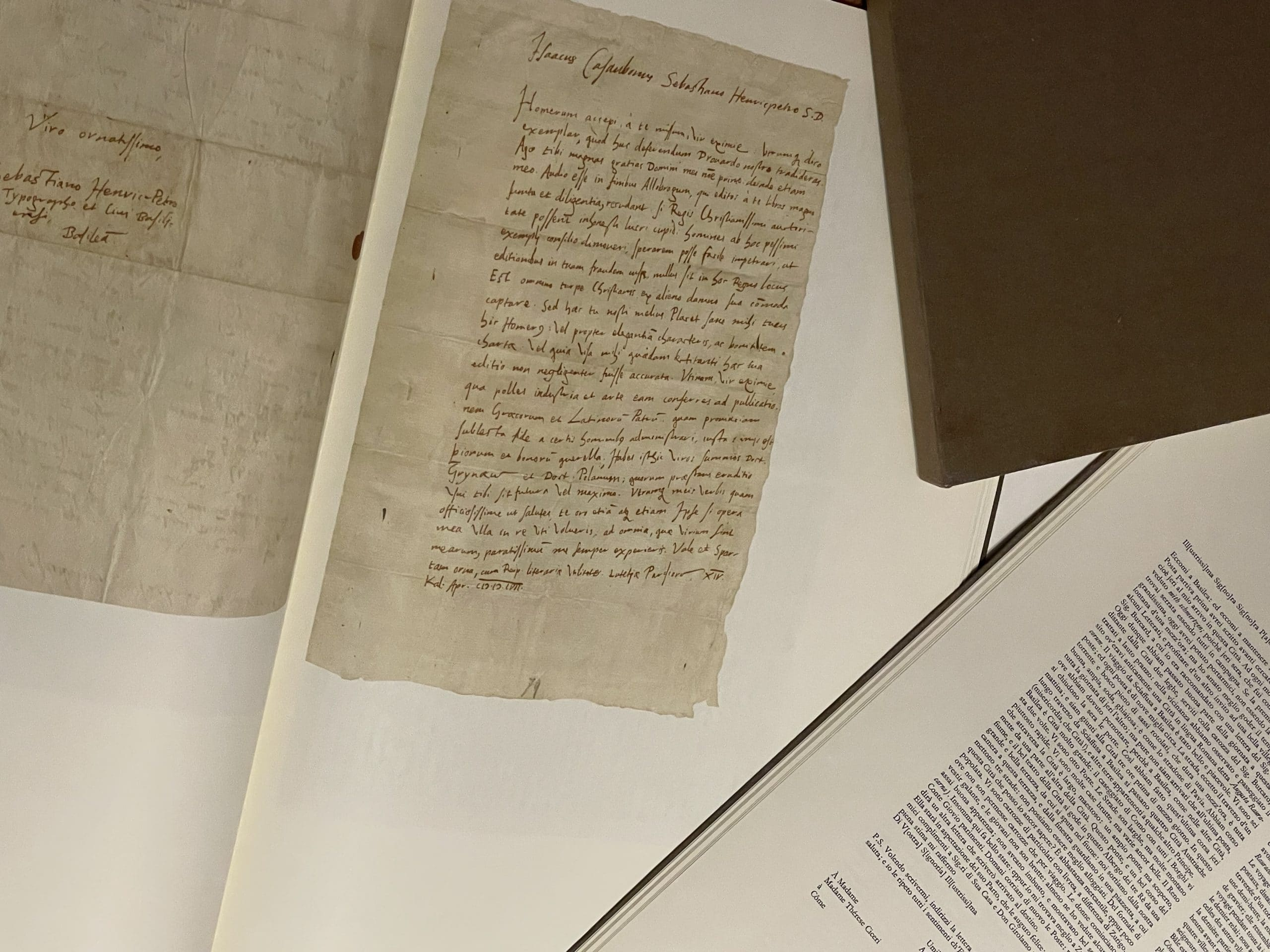 Ein extrem rarer Neuzugang in der HandWritingBiblio: Auszug aus Karl Geigy-Hagenbachs Autographensammlung